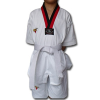 Freeshipping!!!Taekwondo short-sleeve Summer myfi childTae Kwon Do fresh type