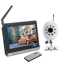 New 7 inch LCD Wireless Video Baby Monitor IR Night Vision Security CCTV Camera Kit with Remote Control