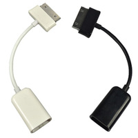 10pcs/lot HOT SELL, USB connection kit OTG host cable For Sansung Galaxy Tab 10.1 P7500 P7510,10cm