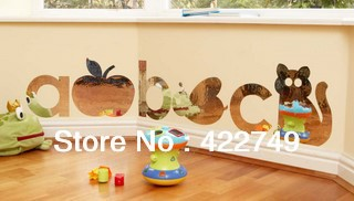 Decorative ikea wall mirror sticker  for kids