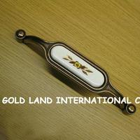 96mm Free shipping zinc alloy ceramics cabinet handle drawer pull handle kitchen door handle
