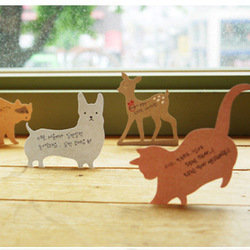 new arrival keyboard message card scrimshaws memo pad cute animal memo pad paper notes(China (Mainland))