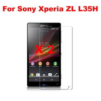 2pcs/set High Clear LCD Screen Protector  Mobile Phone Screen Protector  For Sony Xperia ZL L35H Xperia ZQ C6502 C6503 C6506