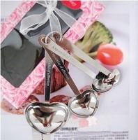 4 Pcs Cute Heart Love Measure Measuring Tea Table Spoon CMA0048