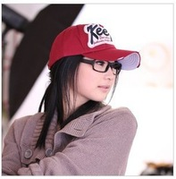 "New Arrival Letter ""Keep"" Popular Baseball Cap Unisex Lovers Hat Casual Visor Cap C016 Promotion Gift"