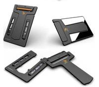 Free shipping Wholesale 50pcs/lot Pocket Carzor Ultra-portable Card Shaver Mini Razor