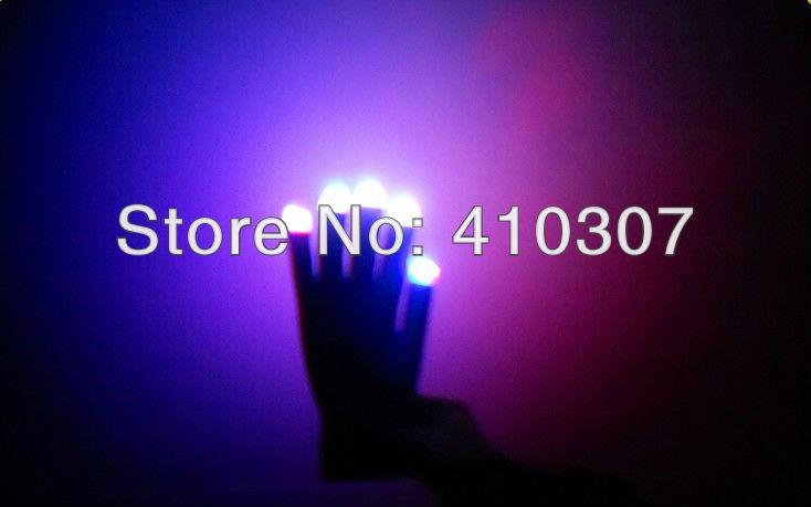Finger Light Shows Finger rave light show