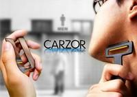 Free shipping Wholesale 5pcs/lot Pocket Carzor Ultra-portable Card Shaver Mini Razor