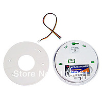 20PCS EMS Free shipping Hot Sell Photoelectric Smoke and Heat Detector with 85dB Horn Alarm Sound(white)