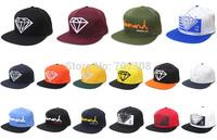 Free shipping 1pcs 100% cotton Diamond Lifers Snapback Hat in Diamonds Supply Co. Snapback Hats baseball caps hip hop street cap