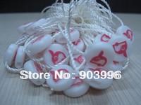 Newly Hang Tag String in Apparel,Free shipping 24cm hanging tag string,seal tag,5000pcs/lot,