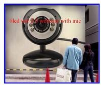 Cheap pc usb webcam , computer web can talk on skype msn, 5.0M HD webcam with MIC