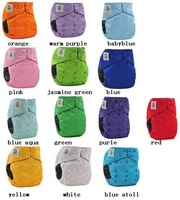 10 sets/lot-Button bamboo-charcoal CB-015 cloth diapers+20pcs inserts coolababy cloth diapers/Baby nappy/Baby napkins