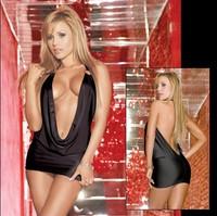Female sexy bodysuit black halter-neck plus size fashion ol set  sex costumes women lingerie with plus size free shipping