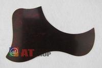 Acoustic Guitar Self-adhesive Pickguard, Red, Wave Shap M242