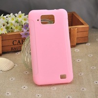 New arrival Soft TPU Gel Phone Case For Gionee GN868 Cell Phone Pink color free shipping