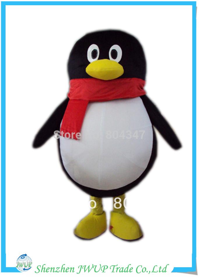 Newest penguin halloween cartoon costumes adult cartoon & game costumes professional cartoon costumes Free Shipping(China (Mainland))