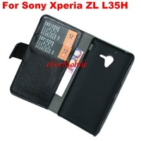 Stand Case Mobile Phone Leather Case   For Sony Xperia ZL L35H Xperia ZQ C6502 C6503 C6506