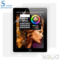 Free Shipping Clear Screen Protector Anti-Glare Screen guard flim for IPAD 1 2 3 4