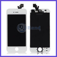3pcs/lot 100% Original White Black LCD With touch screen digitizer Assembly For iPhone 5 5G EMS DHL FedEx Free Shipping
