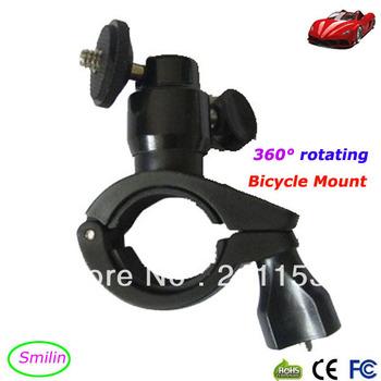 "1/4"" Screw Head Bicycle Motorcycle Mount for Digital Camera Sport Camera Car Camera Head Rotating Mini Bike Holder Bracket 1/4"