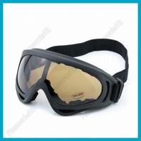 Ski Snowboarding Sports Goggles UV400 Transparent Coffee Lens Sunglasses Free Shipping