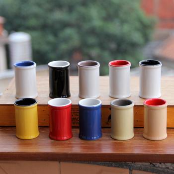 Brief ceramics japanese style toothpick tube fashion toothpick bottle tank toothpick box