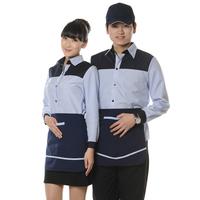 2013 work wear waitress uniforms summer restaurant uniforms
