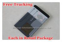 Free Tracking New Original BL-4C Cellphone Battery for Nokia X2 2650 6100 6125 6131 6170 6300 6300i 6301 7200 7270