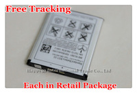 Free Tracking New Original BST-33 Cellphone Battery for Sony Ericsson V800/C702/C901/C903/F305/G502/G700/G705/G900/J105/K530i