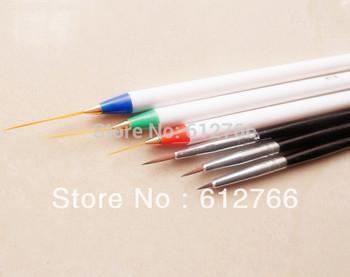 nail art brush painting pen drawing pen 6 pcs/set