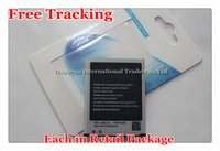 Free Tracking New Original EB-L1G6LLU Mobile Phone Battery for Samsung Galaxy SIII S3 GT-I9300 I9308 2100mAh With NFC