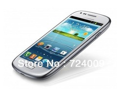 Unlocked Android4.1.1 I8190 I9300 S3 mini 4 inch screen 480 * 800 Dual - core 1.4 GHz CPU android phones five million pixels(China (Mainland))
