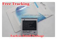 Free Tracking New Original 1500mAh EB575152VU Mobile Phone Battery for Samsung i897 i9000 Galaxy S 4G i9003 i9088 T959 i9010