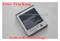 Free Tracking New Original 1750mAh EB555157VA Battery for Samsung Galaxy S II T989 Hercules Cellphone Cellular
