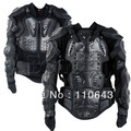 Super Quality Motorcycle Full Body Armor Jacket Spine Chest Protection Gear Size XL Free Shipping TK0496(China (Mainland))