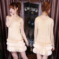 2013 spring and summer fashion elegant sexy women's tassel sweep petals hip slim one-piece dress