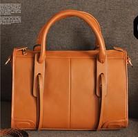 New arrival 2013 fashion vintage women's handbag cross-body shoulder bag genuine leather women large bag