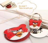 HOLI 073 Makeup Mirror with Bag Hanger Hook Foldable Purse Hook Handbag Holder Lady's gift