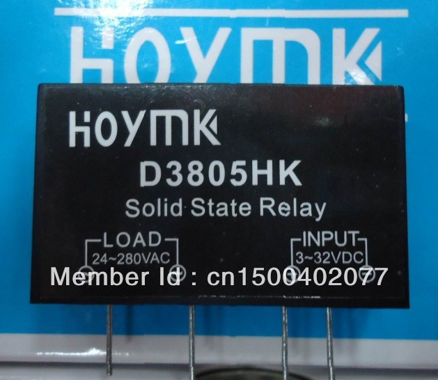 Into the circuit board SSR solid state relays - D3805HK 5A(China (Mainland))