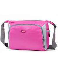 Fashion New schoolbags nylon sports bags outdoor leisure Messenger b shoulder bag on the streets  girl and boy cute school bags