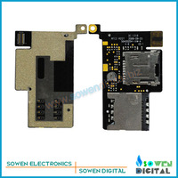 SIM card flex cable for HTC A8181 Desire G7 Dragon G5 Card slot flex cable,Free shipping,Original new