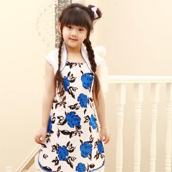 Child clothing cheongsam tang suit female child cheongsam guzheng summer costume cheongsam dress