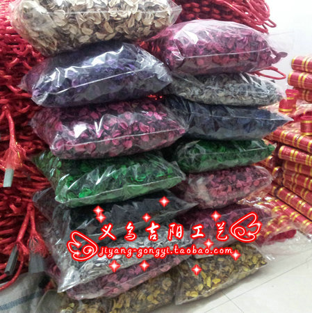 Cotton shell dried flowers spices multicolour pily sachet material dry petals(China (Mainland))