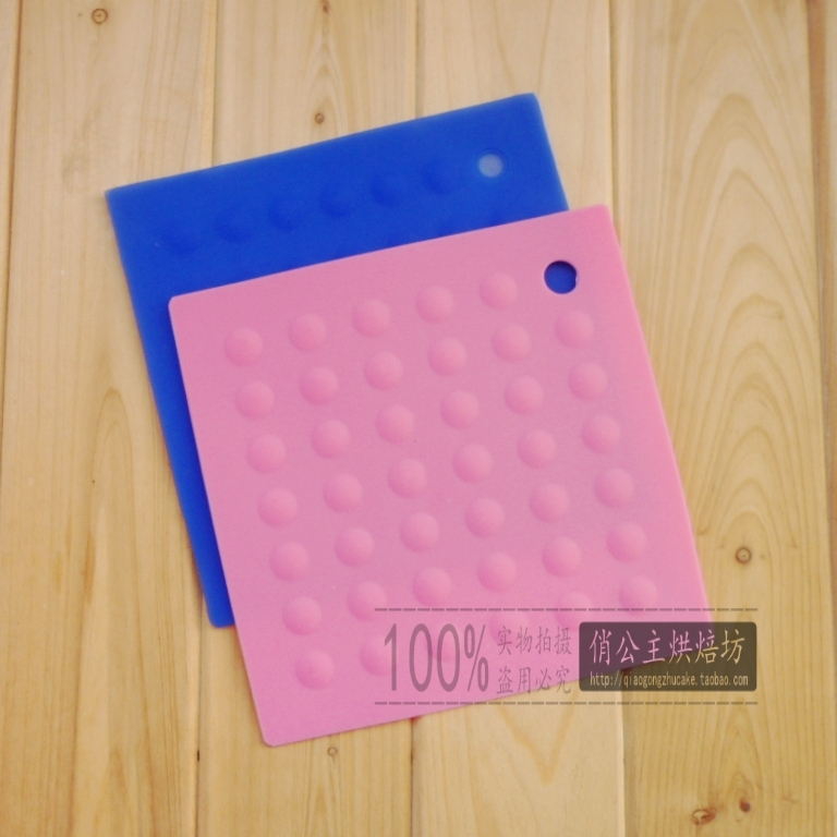 High temperature resistant silicone pad mat heat insulation pad rubber gasket(China (Mainland))