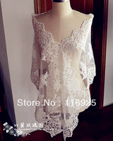 2013 Bridal Wedding Formal Dress Lace CapeFabric, Double Side Lace,Lace Decoration Accessories