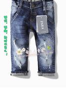 Fashion children's jean boy's long pant,cotton good quality,children's fashion jean,freeshipping