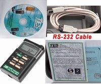 Datalogging Digital Solar Power Meter Tester TES-1333R (RS-232 Interface)