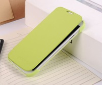 Green For Samsung Galaxy s4 I9500 back cover flip leather case battery housing case,1pcs/lot Free Shipping