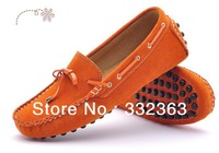 Promotions! Free Shipping Women's Mother's Genuine Leather Shoes Slip-on  Flats Comfort Anti-skid Shoes  4 Colors